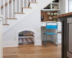 under stairs office. Exciting Unbelievable Under Stairs Storage Space Solutions Love The Doggie Cat Or Kid And Office
