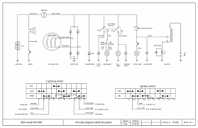 technical information principle wiring diagram bsa wd b40