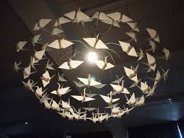 the light penetrates origami