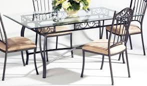 Dining Room Furniture Top Dining Table Rectangle Glass Top Dining