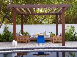 outdoor shade ideas comfortable diy awning sail posts backyard with regard to 9
