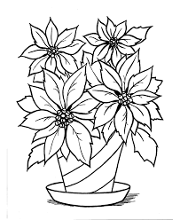 Unlock ad free and printable drawing and coloring tutorials! Christmas Scenes Coloring Pages Christmas Poinsettia Flower Coloring Pages Christmas Coloring Pages Flower Coloring Sheets
