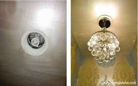 convert recessed light pendant. Fixture I Had Seen At Las Vegas Market. With Minimal Effort, Was Able  To Transform The Space Into One That Could Be Proud Of, And Here\u0027s How Did Convert Recessed Light Pendant T