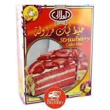 Al Alali Cake Mix Strawberry 524 Gm توصيل Taw9eelcom