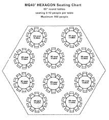 inch round table seats how many seating one hexagon tent 60 dining ta