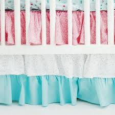 aqua crib skirt pink and aqua ruff crib skirt baby bedding colction aqua chevron crib skirt aqua crib skirt