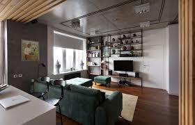 Modern Kiev Apartment With Industrial Details Design Milk - Industrial apartment