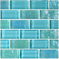 turquoise glass tile turquoise glass tiles kitchen design floor white tile shower sea ideas frosted stainless