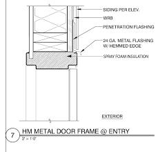 metal door jamb. Exterior Hollow Metal Door Frame Jamb