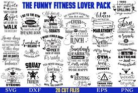 122,000+ vectors, stock photos & psd files. The Funny Fitness Lover Svg Pack 466724 Sublimation Design Bundles