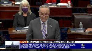 'if that's not an impeachable offense, then there's no such thing.' the prosecution uses graphic videos from the mob attack on the capitol in evidence during trump's impeachment trial. Is0jmmf62p0smm