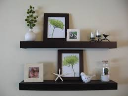 Small Picture Interior Furniture Sweet And Simple White Wall Shelves Design