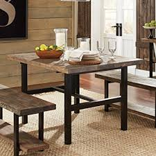 dining room tables reclaimed wood. Exellent Wood Pomona Metal And Reclaimed Wood Dining Table Intended Room Tables I
