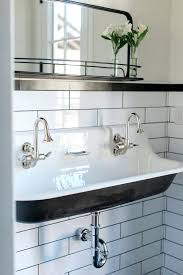 trough bathroom sink with two faucets interesting trough sink your residence concept trough bathroom sink with two faucets undermount trough bathroom sink