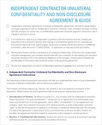 independent contract template independent contractor agreement template word independent