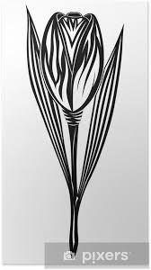 Plakát Tulipán Tetování