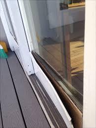 fix patio screen door rollers post