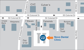 we are a dental office located close to clermont ocoee windermere orlando on the southeast corner of cr 535 and hwy 50 in winter garden