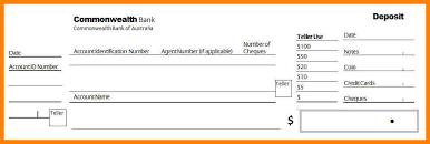deposit slip examples 7 deposit slips example resigning letter