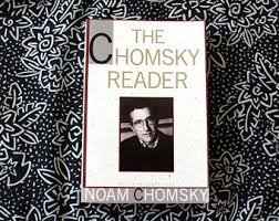 noam chomsky the chomsky reader by noam chomsky 1980s vintage noam chomsky essay collection liberal political