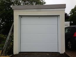 hormann garage doorHormann garage door LPU40 42mm insulated Lribbed silk grain in
