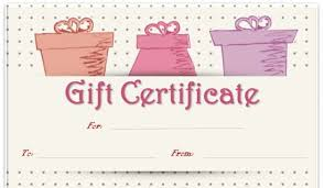 Shopping Spree Gift Certificate Template Shopping Spree Gift Certificate Template Magdalene Project Org