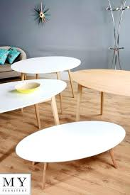 high gloss white coffee table with drawers oval glass oak