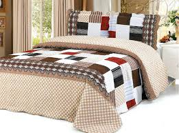 Auvoua 3 PCS Quilt Bedspread Blanket Cover Dusty Pink bedspread ... & Browse for Bedding Sets on Sale, Duvet Covers, Quilts, Blankets, Bedspreads  & Adamdwight.com