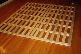 wood bed frame plans king make wooden stop squeaking build a with storage how to