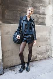 leather jackets for women street style 8