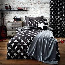 stars black duvet cover set blue stars single duvet cover grey star cot bed duvet cover