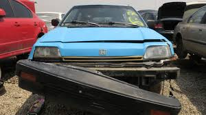 Junkyard Find: 1986 Honda Civic 1300 Hatchback
