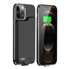 Công Suất Ngân Hàng Dành Cho iPhone 12 Pro Max 12 Mini Pin Ốp Lưng Mỏng  Powerbank Sạc Cho iPhone 12 Pro pin Sạc Dự Phòng Trường Hợp|Hộp Sạc Pin