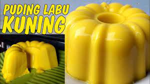 Selanjutnya labu kuning kukus sekitar 15 menit lamanya lalu di haluskan. Bagaimana Cara Membuat Puding Labu Kuning Resep Puding Labu Kuning Santan Youtube