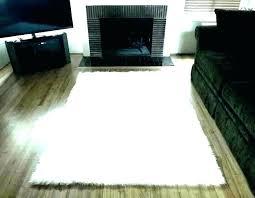 super large plush area rugs arts unique and white fluffy rug black