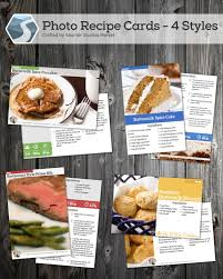 Recipe Cards Templates Printable Designer Recipe Cards For Keeping Or Sharing A Free