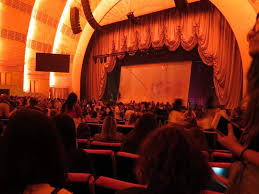 Radio City Music Hall Section Orchestra 2 Row A Seat 205