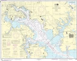 Noaa Nautical Chart 12281 Baltimore Harbor