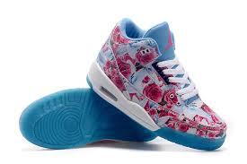 air jordan shoes for girls 2016. 2015 air jordan 3 gs school season pink blue white shoes-4 shoes for girls 2016