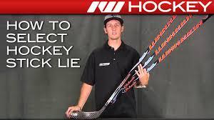 How To Select Hockey Stick Lie