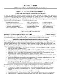 Manufacturing Manager Resume Operations Sample Samplesroduction