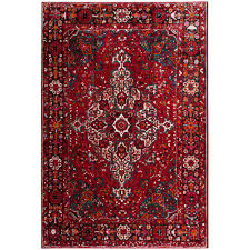 Image Persian Rugs The Home Depot Safavieh Vintage Hamadan Redmulti Ft 12 Ft Area Rug