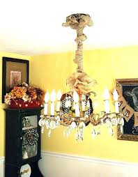 fabric chandelier chain covers burlap cover cord dining room easiest whit chandelier cord cover