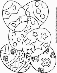 Christmas Tree Coloring Pages For Free Easter Coloring Pages