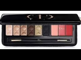 2017 dior holiday couture makeup eye palette collection gift unboxing vlog australia