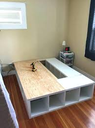 Best Storage Beds Raised Double Bed With Storage Best Storage Bed Ideas On  Beds With Within