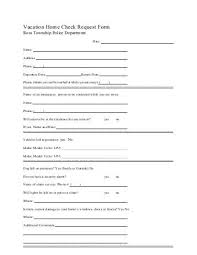 Late Check-Out Request Form/contract - Seattle University