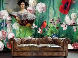 Barok Behang Lady Alida Bijzonder Mooi Behang Stories On The Wall