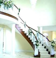 decorate stair railing stair wall railing staircase decorating ideas stairs decoration decorate stair railing wedding