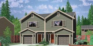 house plans for narrow lot with garage in back lovely zero lot line house plans house